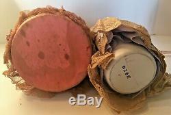 La Moitié Vintage Porcelain Doll Pin German Coussins Chapeaux Lot De Plumes 2