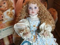 Linda Rick, Sydney Et Son Antique Teddys La Dollmaker, Porcelaine Poupée, Nouveau