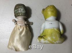 Lot-10 Poupées De Porcelaine Vintage Allemand Et Japonais En État Vg Livraison Gratuite