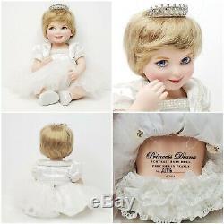 Lot De 3 Franklin Mint Princesse Diana Portrait Nuisettes Limited Edition