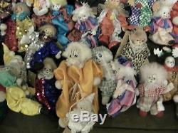 Lot De 60 + Collection Grand Clown Vintage
