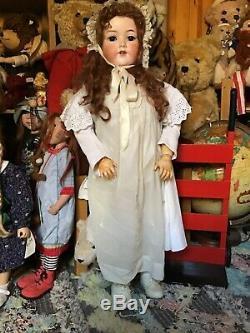 Lovely Énorme 36 Pouces Armand Marseille 390 Antique Doll. A16m