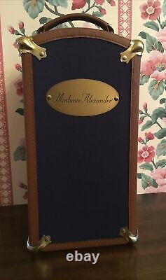 Madame Alexander Porcelaine Margaret Années 1920 Lune De Miel Trunkset Complete/all Orig