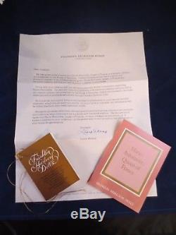 Marie Antoinette Franklin Mint Papers Boîte Originale Vintage Bisque Porcelaine 18