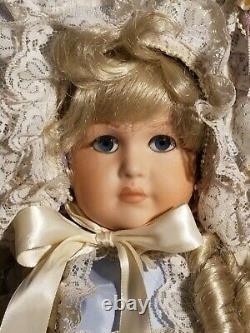 Maryse Nicole Madeline Vintage 1990 Full Body Porcelain Doll Mein Liebling