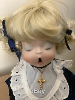 Noël Vintage Le Petit Choeur Chanteurs Poupées Religieuses Porcelaine Poupées
