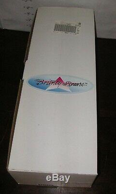 Nouveau! Poupée En Porcelaine Vintage 2000 Britney Spears 18 Par Sandra Bilotto 968/5000