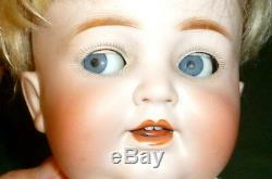Old Porcelaine Head Doll Kestner 680 5 K & H Kley & Rooster Doll Poupées Poupee