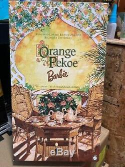 Orange Pekoe Barbie Victorienne Thé En Porcelaine Collection 2111/4000 # 25507