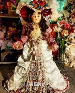 Pat Loveless Antique Reproduction Bru 36 Jne Victorienne Française Bebe Porcelaine