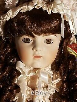Pat Loveless Antique Reproduction Bru Jne 36po Victorienne Française Bebe Porcelaine