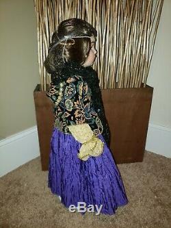 Patricia Loveless Ezmerelda Fortune Teller Gypsy Doll 26 # Porcelaine 14/2000