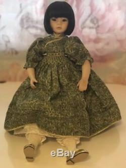Pauline Bjonnes-jacobsen (2) Poupées Vintage En Porcelaine Asiatique Vtg Edition Limitée