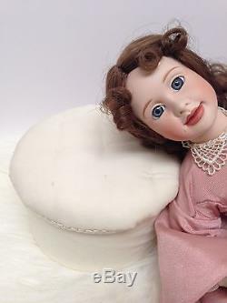 Petites Femmes 5 Poupées En Porcelaine Amy Beth Meg Jo Marmee Ashton Drake Vtg1938 Livre