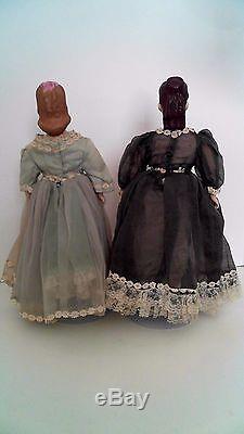 Petites Femmes Poupées Gagnantes À La Main En Porcelaine Mary Vintage Award