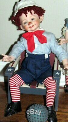 Porcelain Doll Dianna Effner 15 '' Seulement Boy ¯ \ / ¯