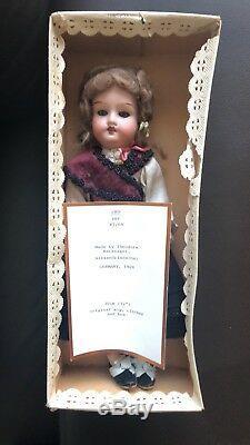 Porcelaine Antique Doll Allemagne 1909 Theodore Recknagel