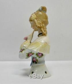 Porcelaine Antique Moitié Poupée William Goebel Jenny Lind