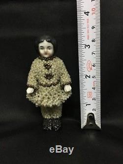 Porcelaine Vintage Gelée Charlotte Doll 3 Pouces