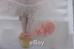Porcelaine Vintage Look Plantation Belle Ponytail Aux Cheveux Rouges Barbie Doll & Hat