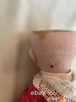 Poupée Antique De Tête De Porcelaine -kestner # 221