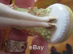 Poupée Complète Avec Coussin En Porcelaine Vintage, Allemagne