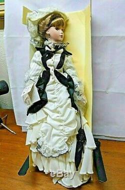 Poupée De Porcelaine Anastasia Collection 22 Eliza Vintage 80 Nouveau Sans Boîte