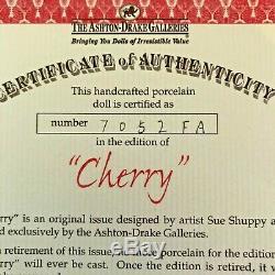 Poupée De Porcelaine Cherry, Sue Shuppy, Galeries Ashton Drake
