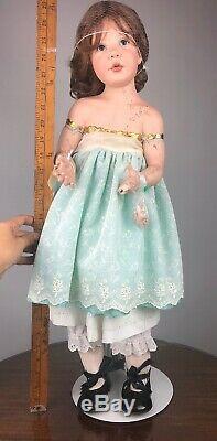 Poupée De Porcelaine Columbina Par Amalia Pastor Signé Ltd 7 De 10 1998