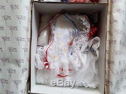 Poupée En Porcelaine 33 Pouces Rustie Vintage Liberty Coa # 203/1000