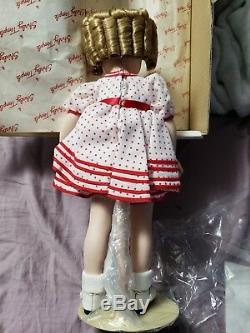 Poupée En Porcelaine Stand And Cheer Vintage Shirley Temple