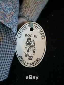 Poupée Lynne Et Michael Roche Vintage En Porcelaine Jointée, Hannah