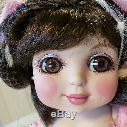 Poupée Marie Osmond Adora Porcelaine Bisque Doll Ltd Edition Vintage Tous Les Biscuits