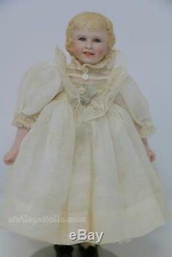 Poupée Martha Thompson Lulie, 7.5 In, Poupée Vintage En Porcelaine D'artiste Des Années 1950