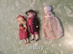 Poupée Miniature Miniature Vintage Allemande En Biscuit Allemand