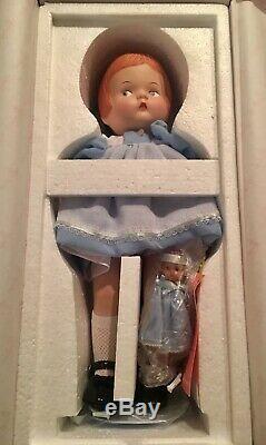 Poupée Patsy En Porcelaine Effanbee Rare Avec Wee Pasty P226 Dans Box Le Circa 1996 Nib