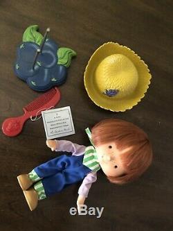 Poupée Sablée Aux Fraises Et Porcelaine Collection Danbury Mint Ssc Vintage