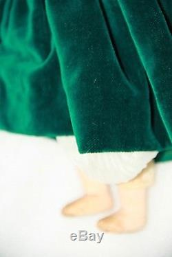 Poupée Vintage 30 CM Poupée De Porcelaine Shinoda Estampillée Vieille Poupée Shinoda Ancienne Poupée