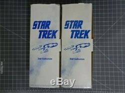 Poupée Vintage En Porcelaine Star Trek Kirk 14 Avec Collection Hamilton Collection Rj Ernst