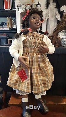 Poupée Vintage Mary Van Osdell Enfant Afro-américaine 24 Pamela Erff