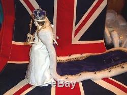 Poupée Vintage Peggy Nisbet # P1953 Couronnement Queen Elizabeth II # 227/5000