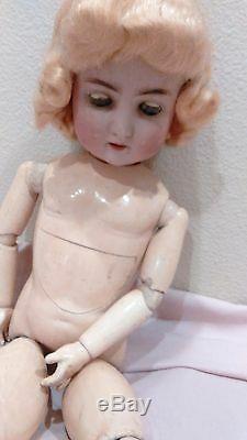 Poupées En Porcelaine Antiques Fabriqués En Allemagne #s 1362 En Bon