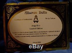 Poupées Vintage Alberon Porcelaine Angelica Edition Limitée
