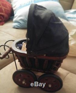 Poupées Vintage Springford De Amish Avec Chariot À La Main