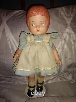 Rare 15 Effanbee Patsy Porcelain Doll 1988 Lieutenant Ed. Sur Les 7500