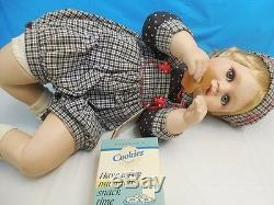 Rare! Collection Andrew Porcelaine Baby Doll Hertiage Hamiliton Collection Coa