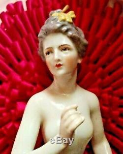Rare Dressel Kister Porcelaine Fine Demi-poupée Près De 7 Pouces Hi