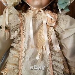 Rare Patricia Loveless Reproduction Antique Bru Porcelaine Poupée 418/2000 29