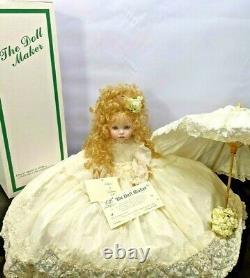 Rare Vintage 01/10 Linda Rick Porcelain Doll Victoria De Victoria Village 24