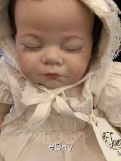 Rare Vintage 1975 Fabriqué À La Main En Céramique Baby Doll Mint Euc Magnifique Visage